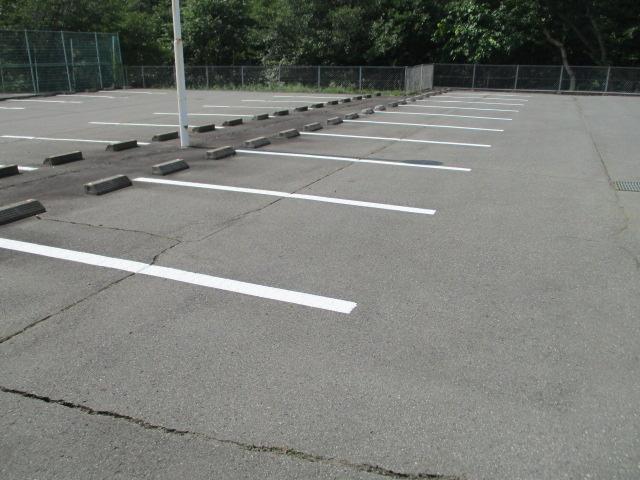 駐車場 白線引き